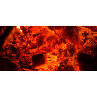 Принт прямоугольный, серия Пламя, 20203