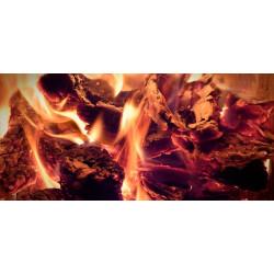 Принт прямоугольный, серия Пламя, 004