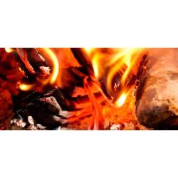 Принт прямоугольный, серия Пламя, 005