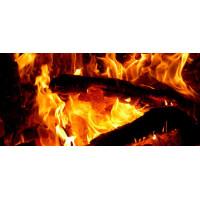Принт прямоугольный, серия Пламя, 20208