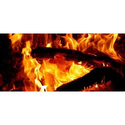 Принт прямоугольный, серия Пламя, 008