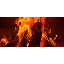 Принт прямоугольный, серия Пламя, 009