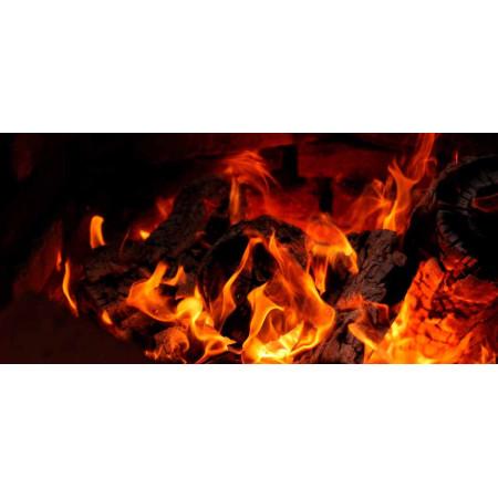 Принт прямоугольный, серия Пламя, 20211