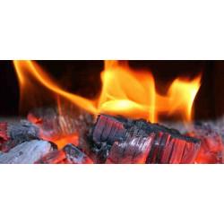 Принт прямоугольный, серия Пламя, 012