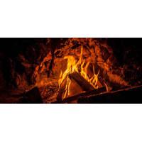Принт прямоугольный, серия Пламя, 015