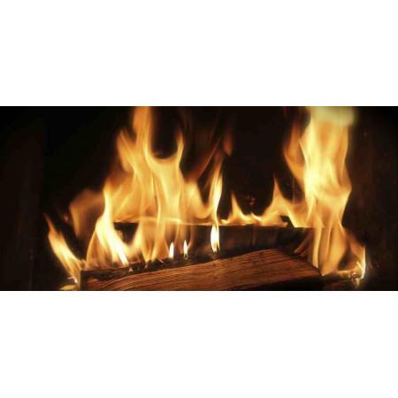 Принт прямоугольный, серия Пламя, 019