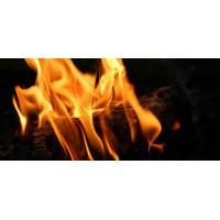 Принт прямоугольный, серия Пламя, 021