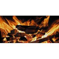 Принт прямоугольный, серия Пламя, 022