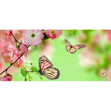 Принт прямоугольный, серия Цветы, 047