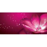 Принт прямоугольный, серия Цветы, 051