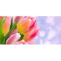 Принт прямоугольный, серия Цветы, 057
