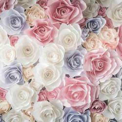 Принт квадратный, серия Цветы, 059