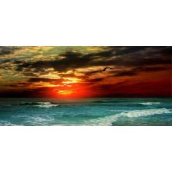 Принт прямоугольный, серия Море, 014