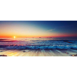 Принт прямоугольный, серия Море, 026