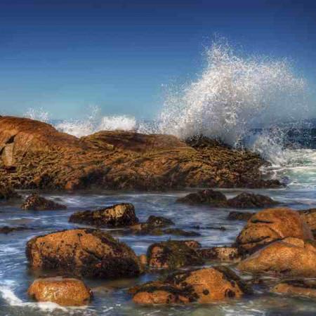 Принт квадратный, серия Море, 033