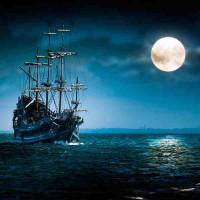 Принт квадратный, серия Море, 039