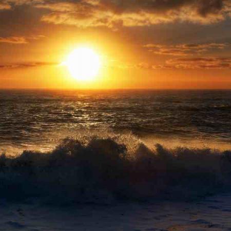 Принт квадратный, серия Море, 047