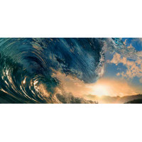 Принт прямоугольный, серия Море, 056