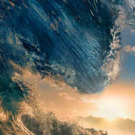 Принт квадратный, серия Море, 056