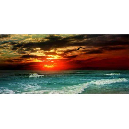 Принт прямоугольный, серия Море, 057