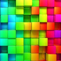 Принт квадратный, серия Текстуры, 015