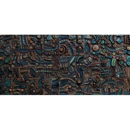 Принт прямоугольный, серия Текстуры, 024