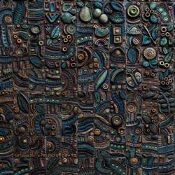 Принт квадратный, серия Текстуры, 024