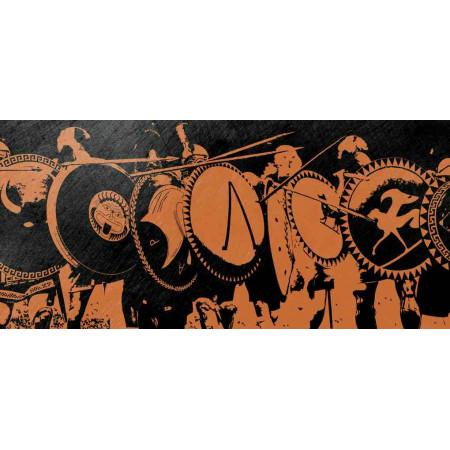 Принт прямоугольный, серия Текстуры, 025
